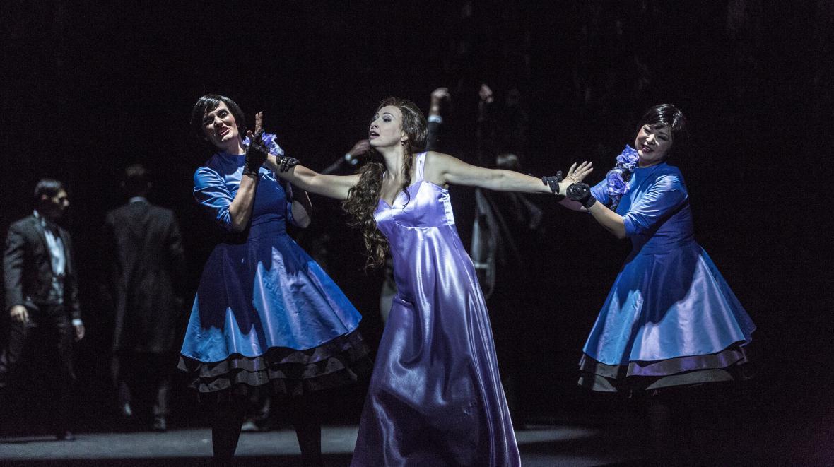 Stravinského Slavík v Národním divadle