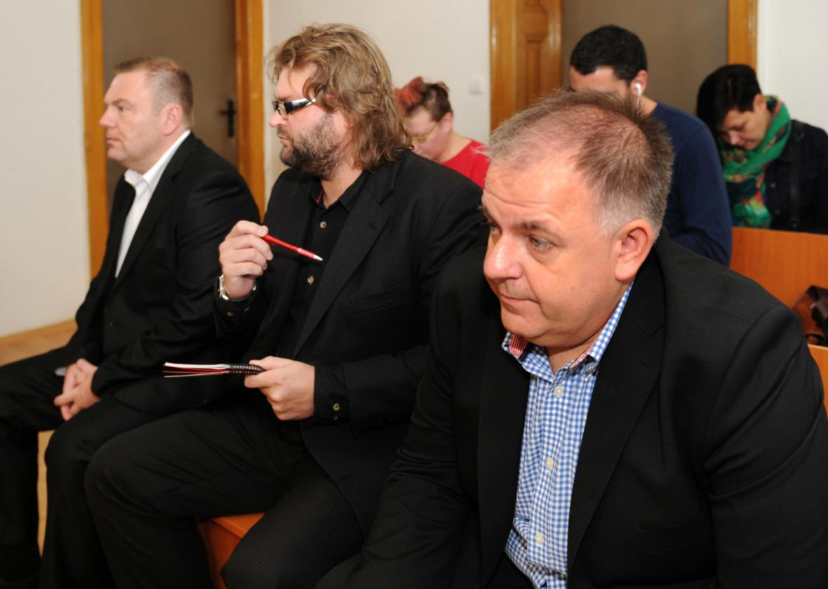 Roman Majerník, Adam Řebíček a Radek Turišin