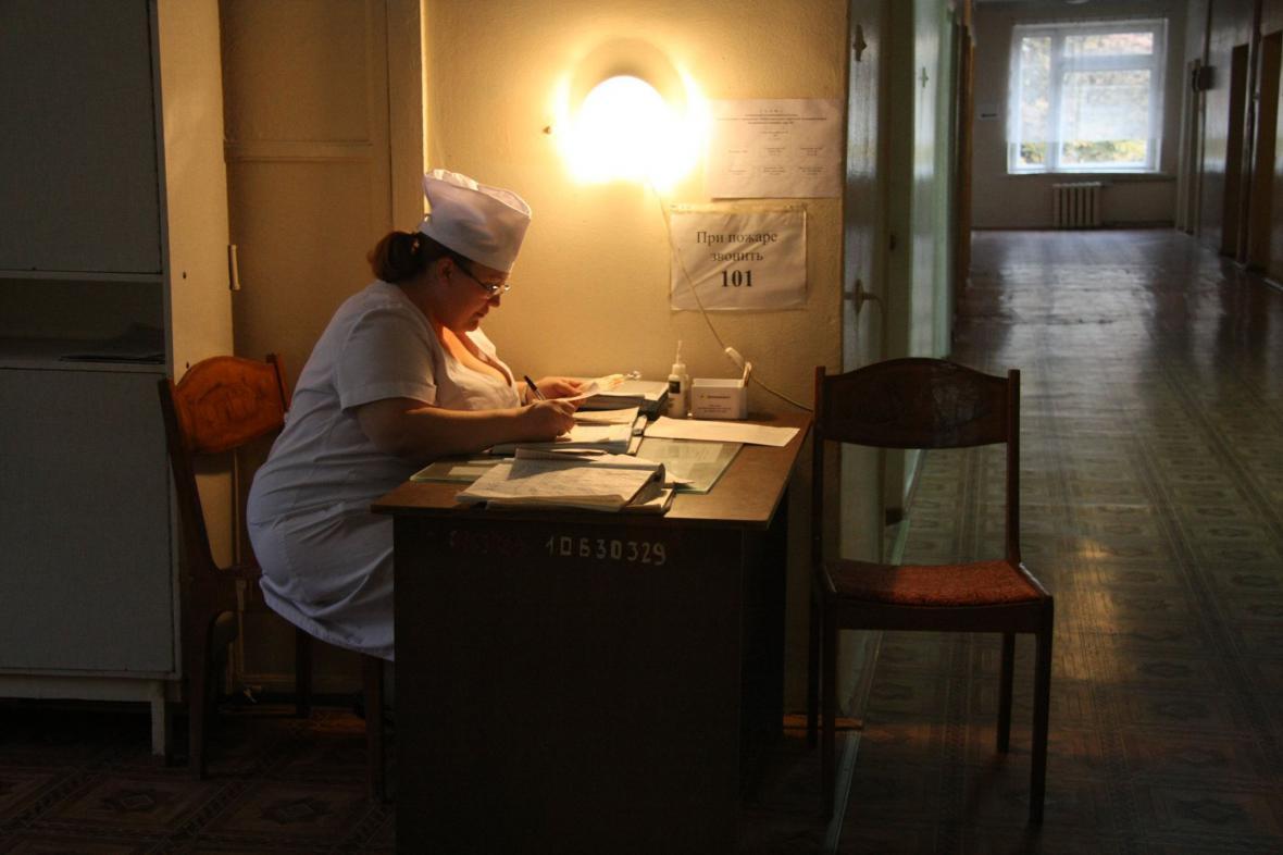 Nemocnice Mariupol potřebuje rekonstrukci