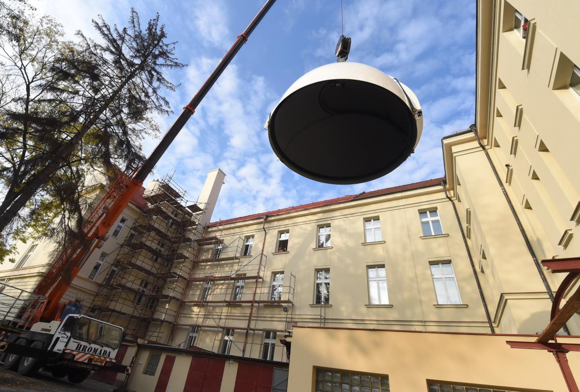 Slezské univerzitě v Opavě si buduje observatoř