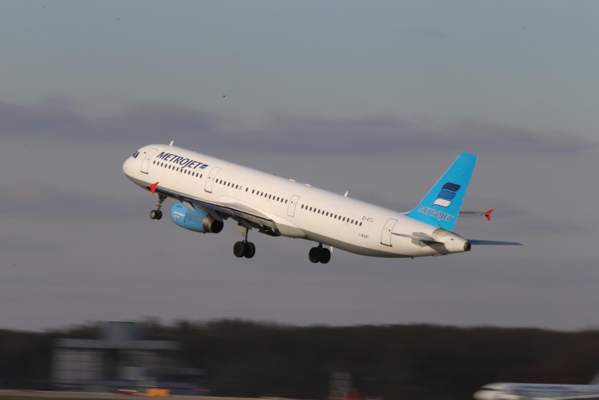 Airbus A321 ruského leteckého přepravce Kogalymavia