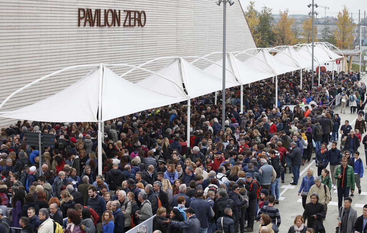 Zájem o Expo 2015 v Miláně překonal očekávání