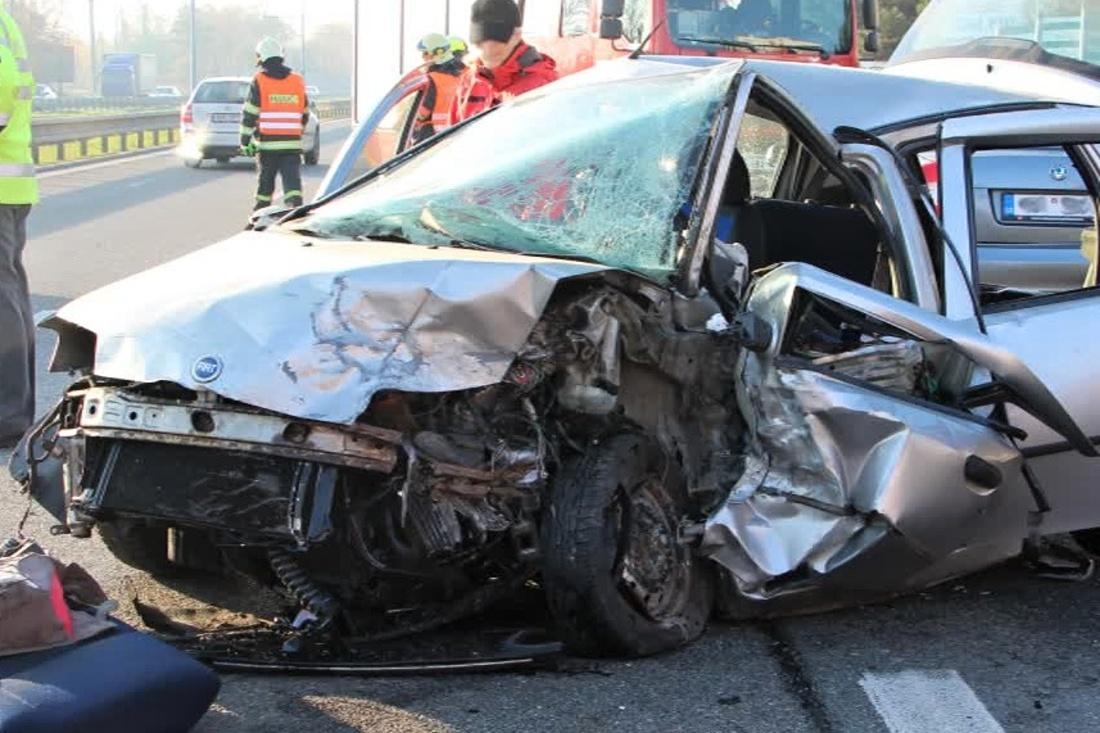 Smrtelná nehoda ve Vídeňské ulici v Brně