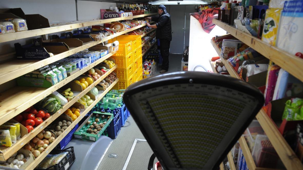 Pojízdná prodejna potravin