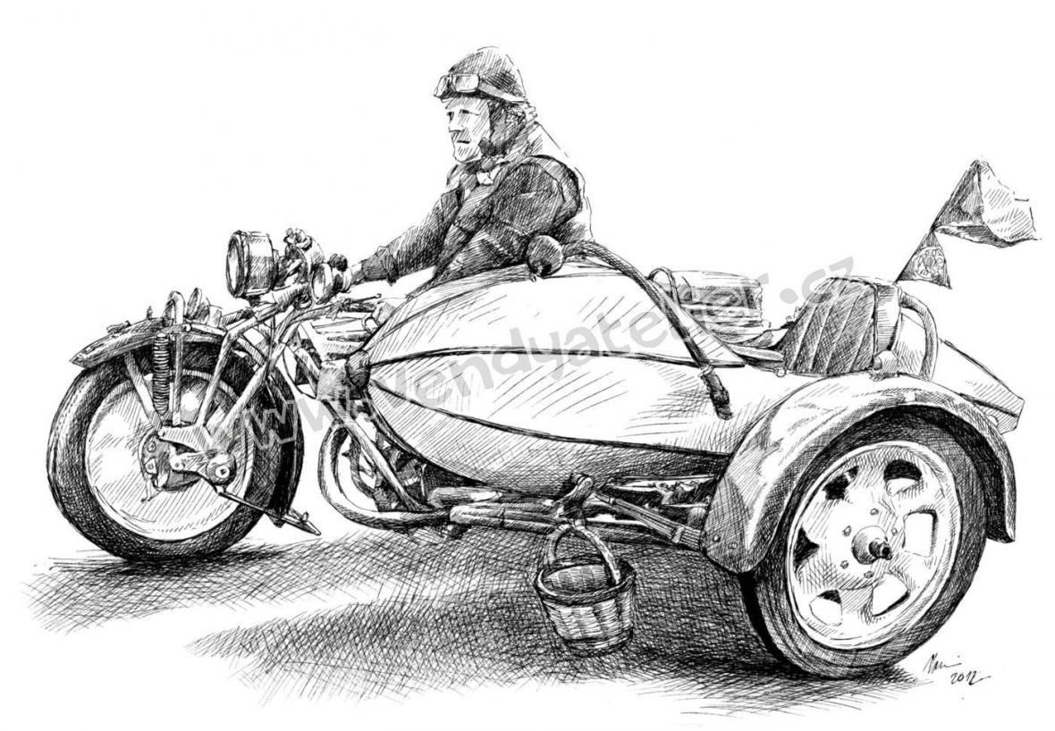 Motocykly Čechie - Böhmerland