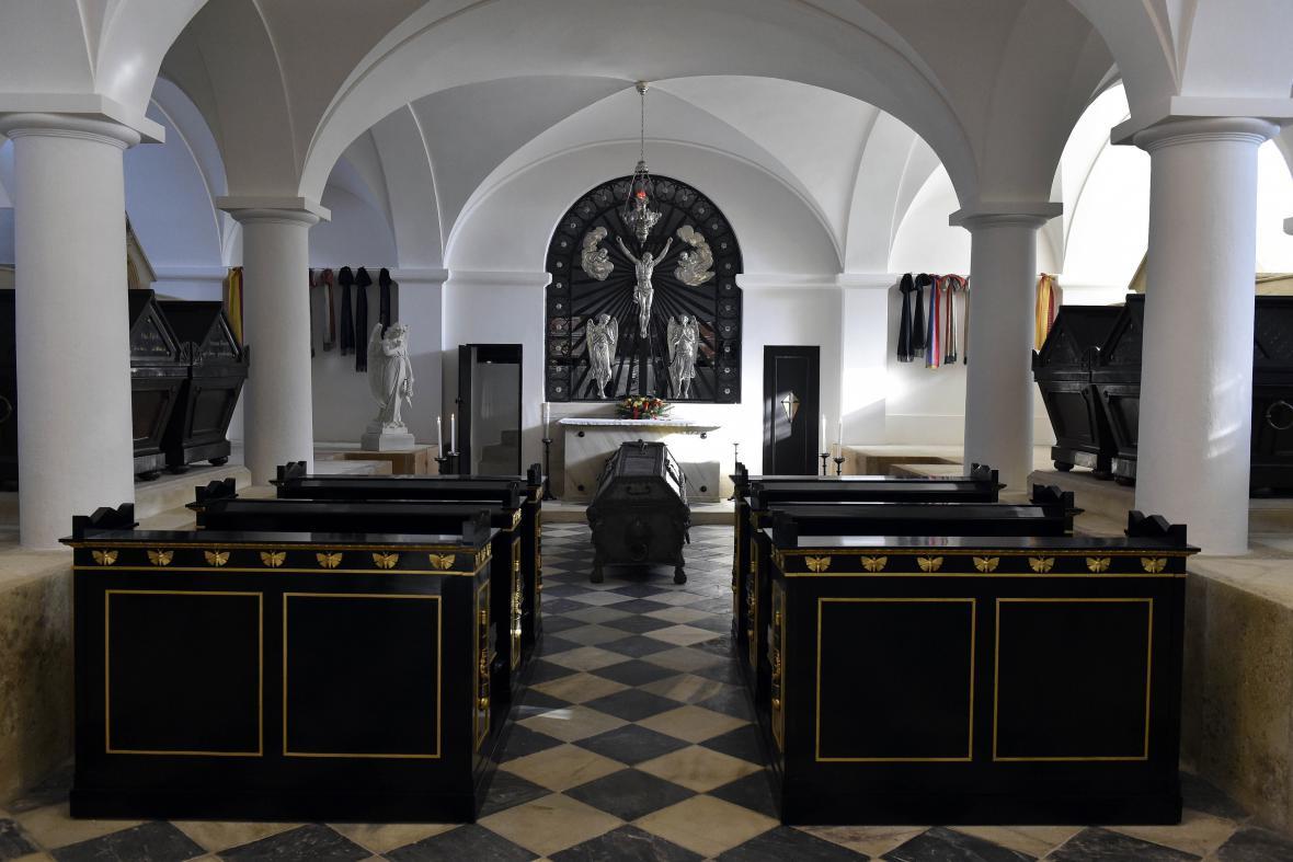 Hrobka rodu Lichtenštejnů prošla rekonstrukcí