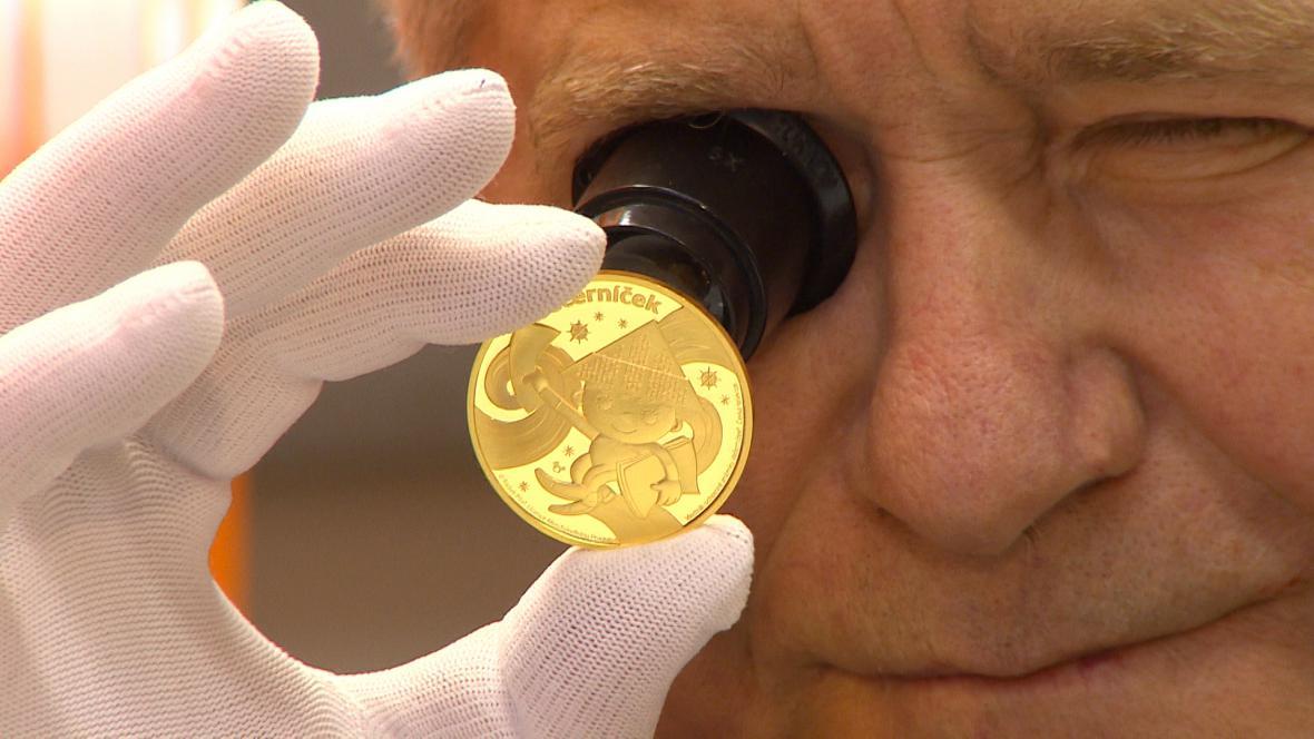 Ražba mincí s Večerníčkem