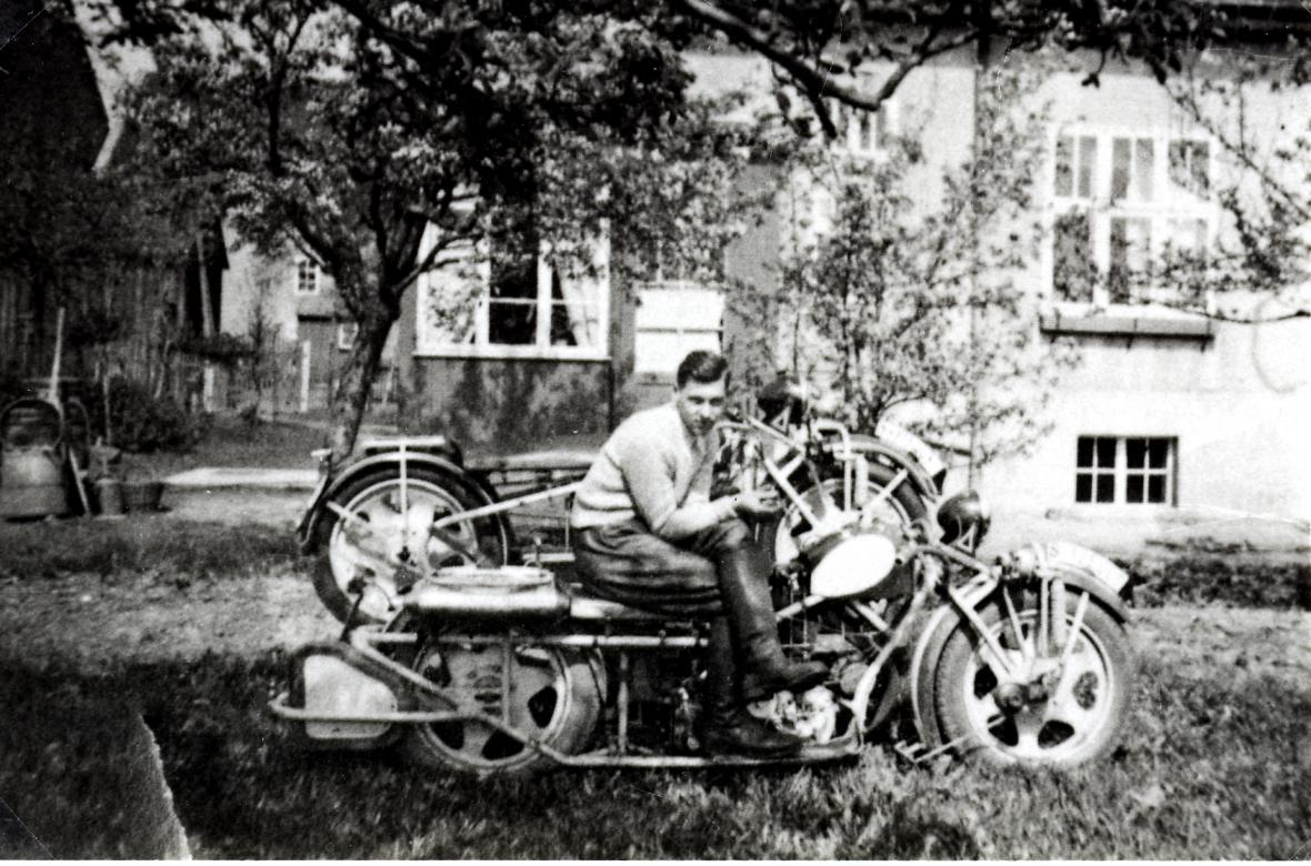 Historický vývoj motocyklů Čechie-Böhmerland