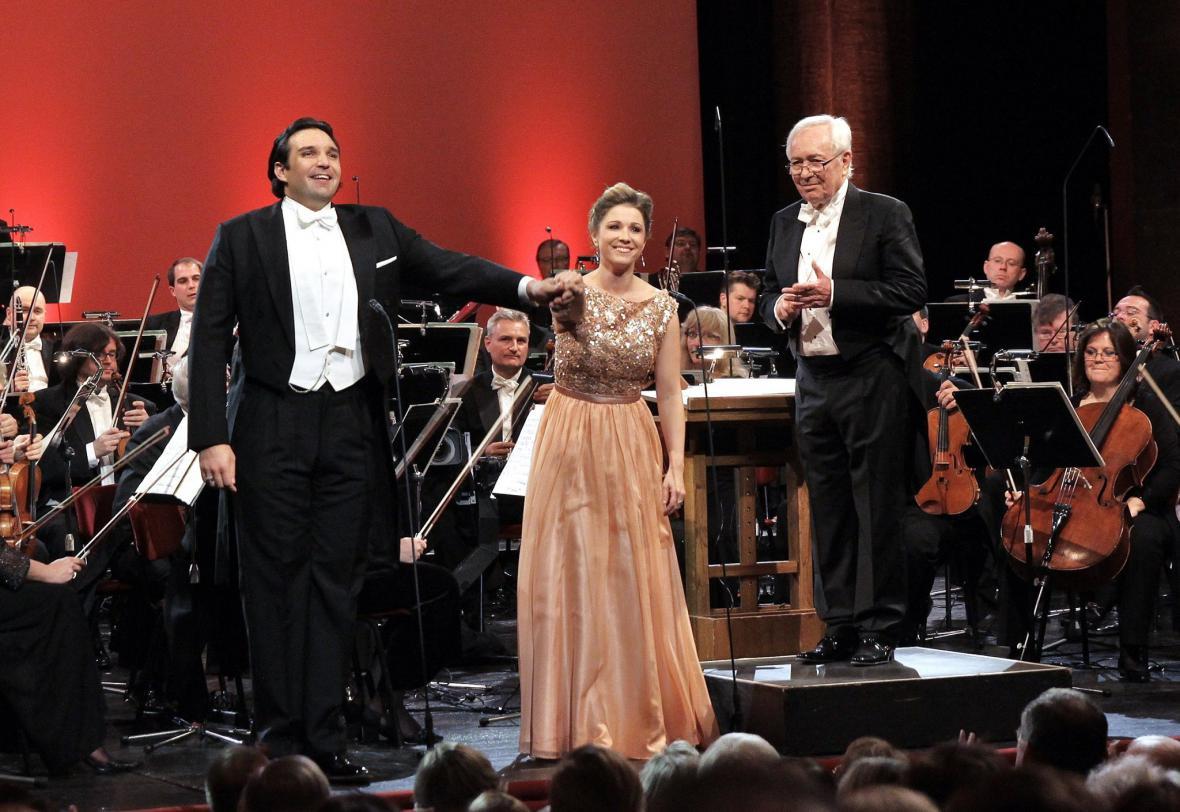 Koncert k 50. ročníků Mezinárodní pěvecké soutěže Antonína Dvořáka