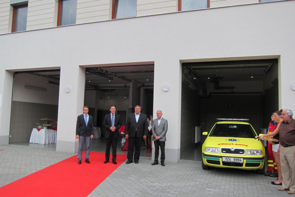 Zlínský kraj posiluje síť stanovišť záchranné služby