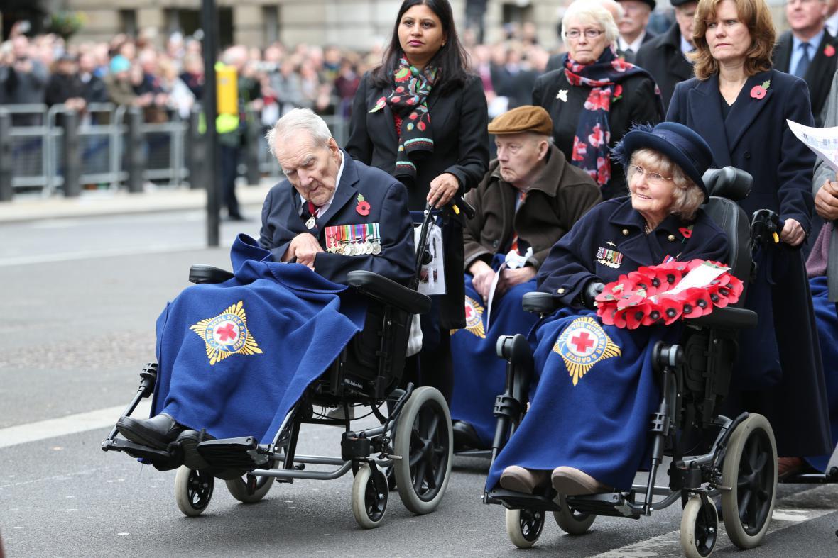 Den veteránů v Londýně