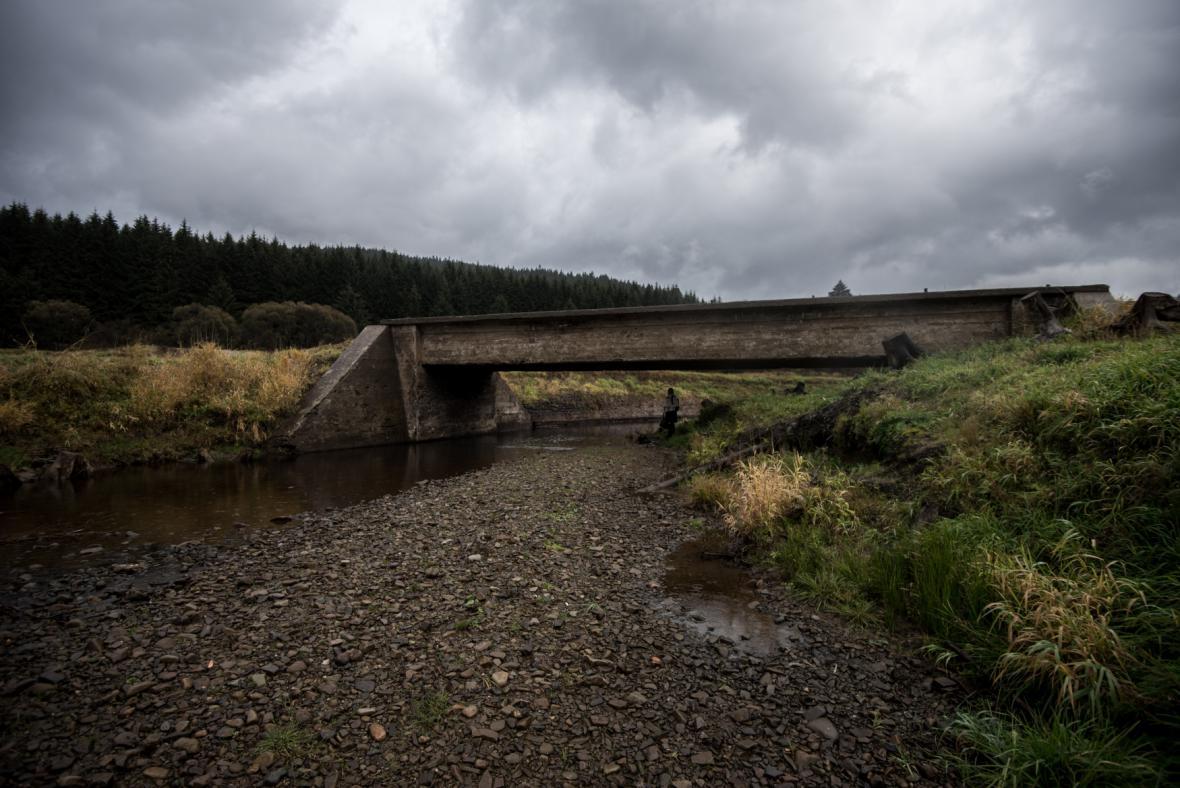 Nedostatek vody v Přehradě Šance