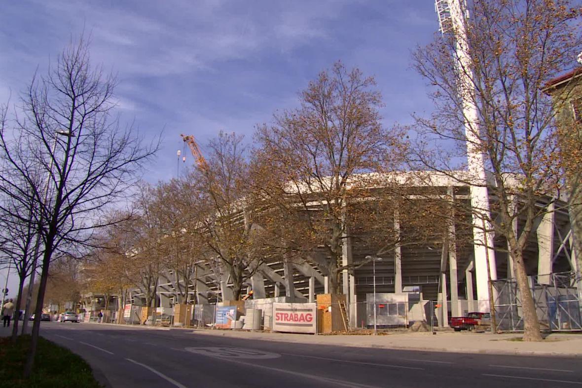 Vídeňský fotbalový stadion