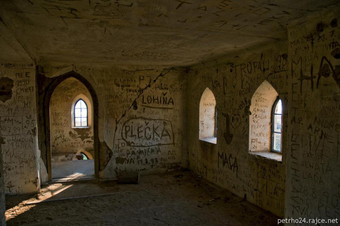 Kostel svatého Linharta v bývalém Mušově