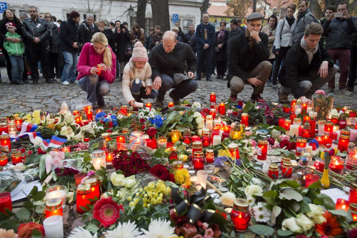 Česká reakce na útok v Paříži