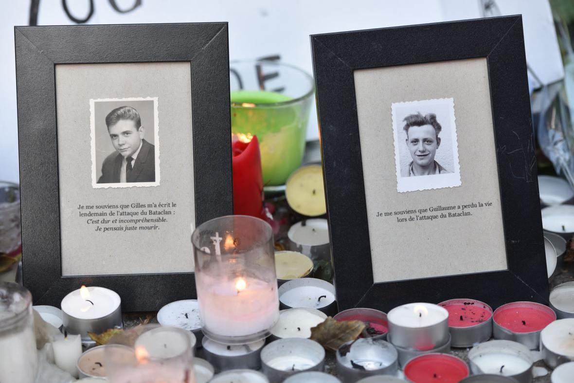 Oběti násilí v hudebním klubu Bataclan