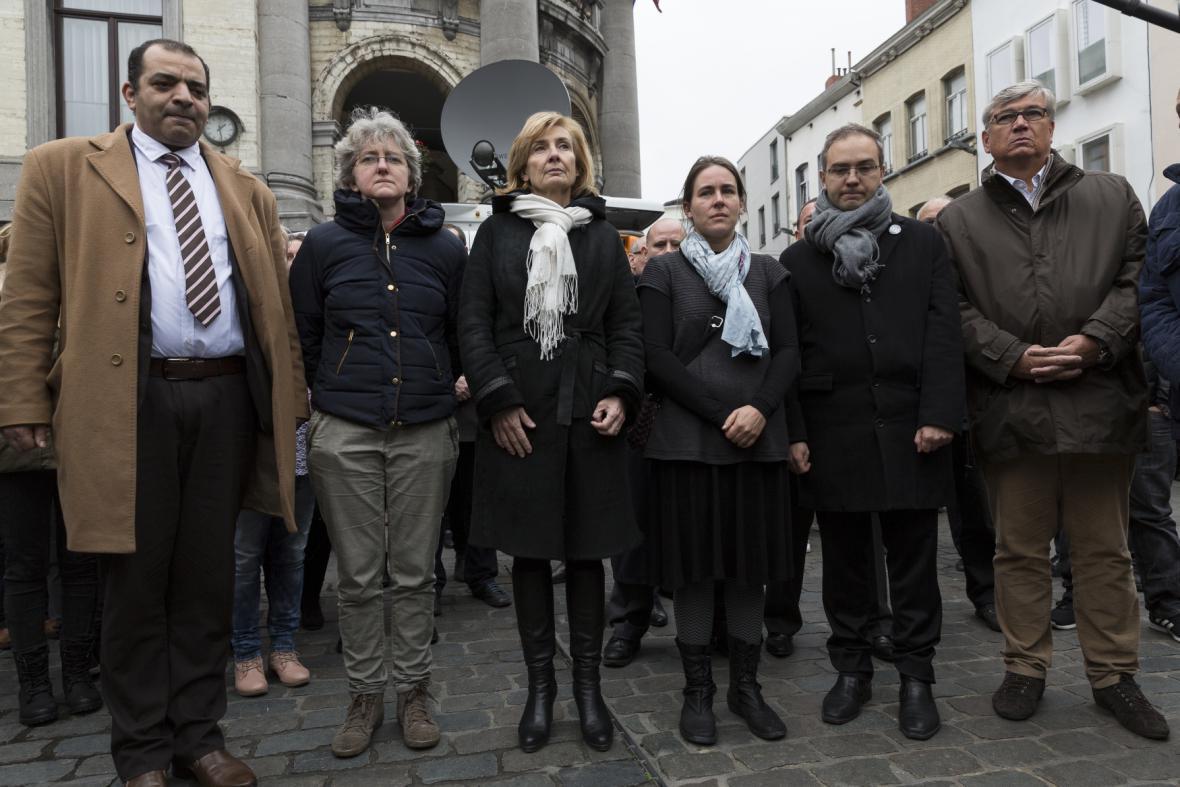 Minuta ticha v bruselské čtvrti Molenbeek