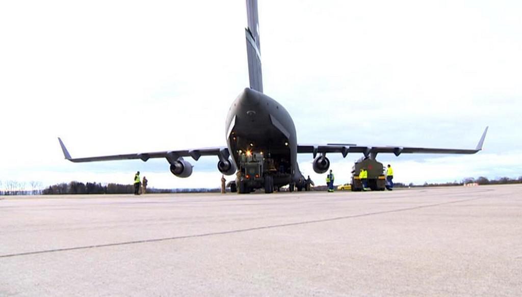 Do Iráku odletěl letoun s českou municí