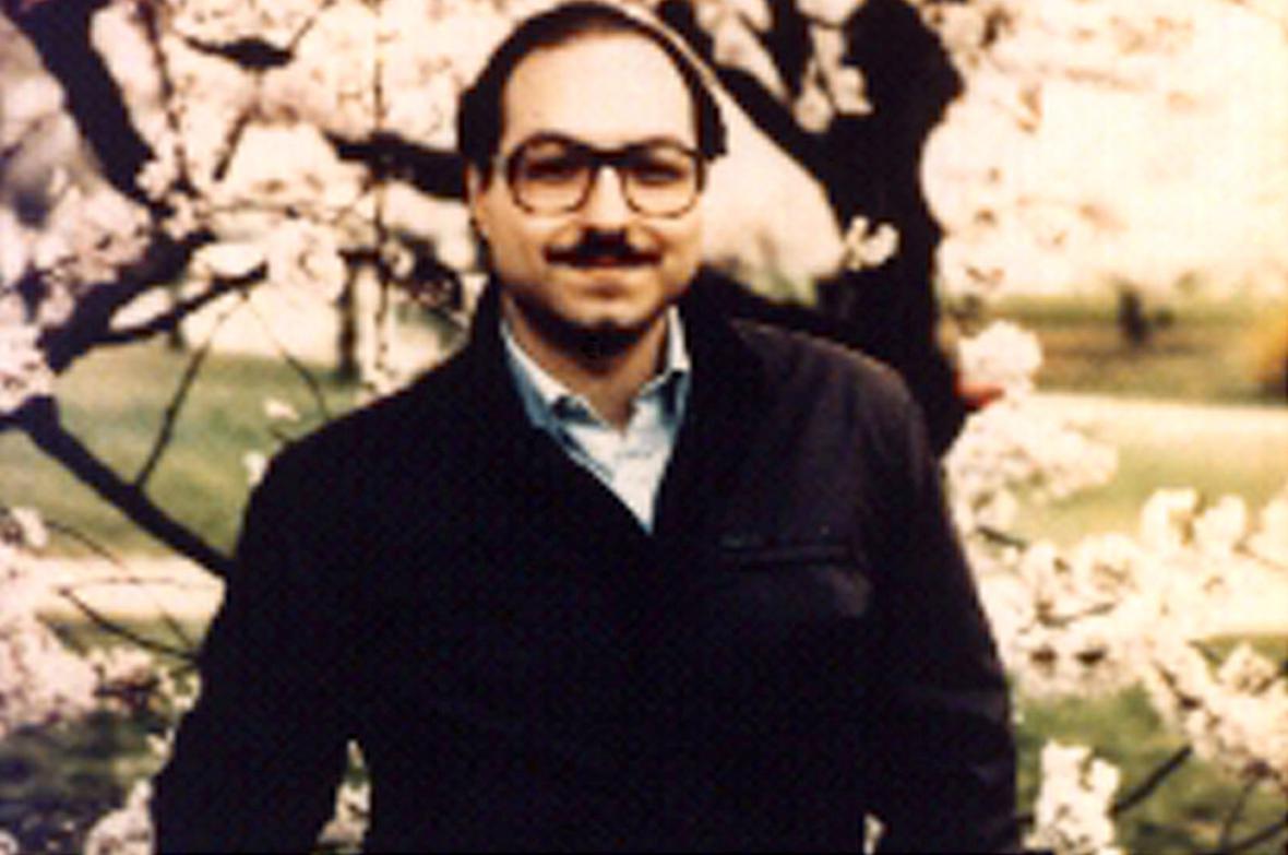 Jonathan Pollard v roce 1998 - zhruba měsíc před svým zatčením