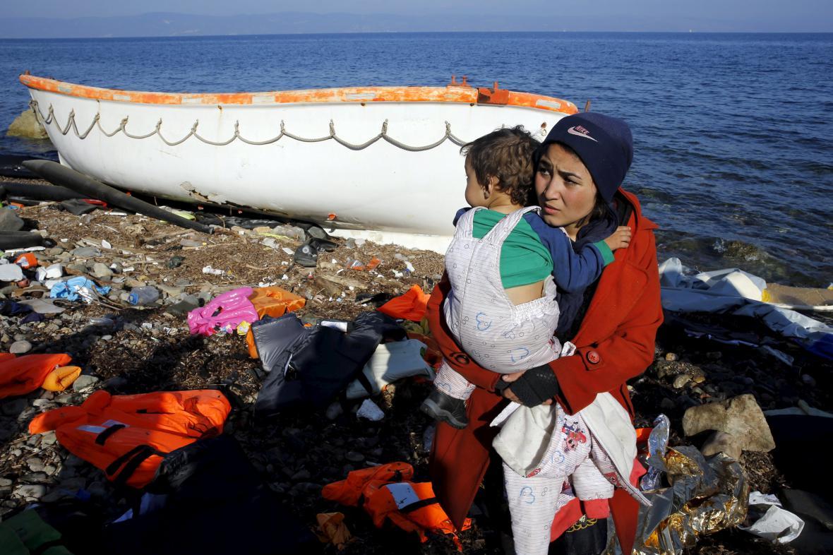 Uprchlíci na Lesbu