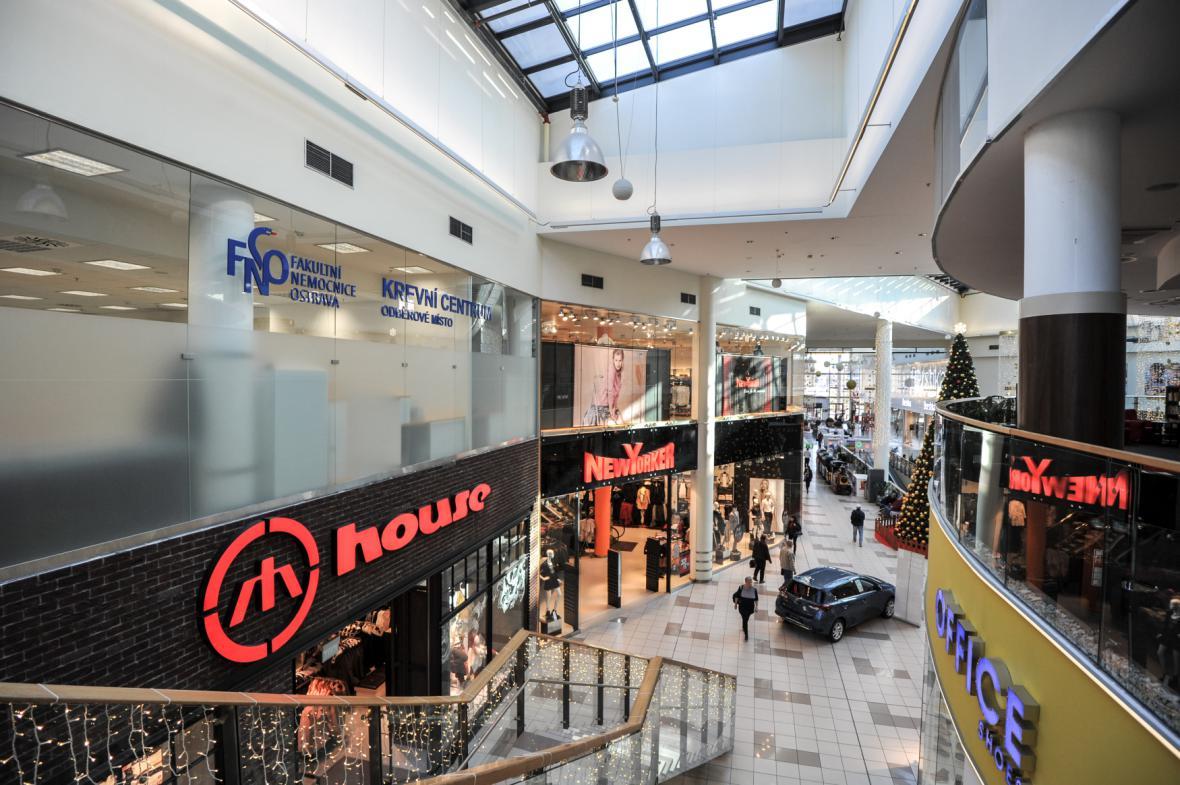 Detašované odběrové místo FNO pro dárce plazmy v Avion Shopping parku