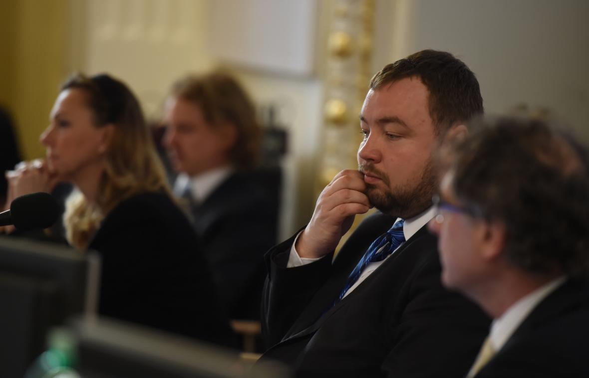 Rozhádané vedení Opavy - Martin Víteček a Simona Bierhausová