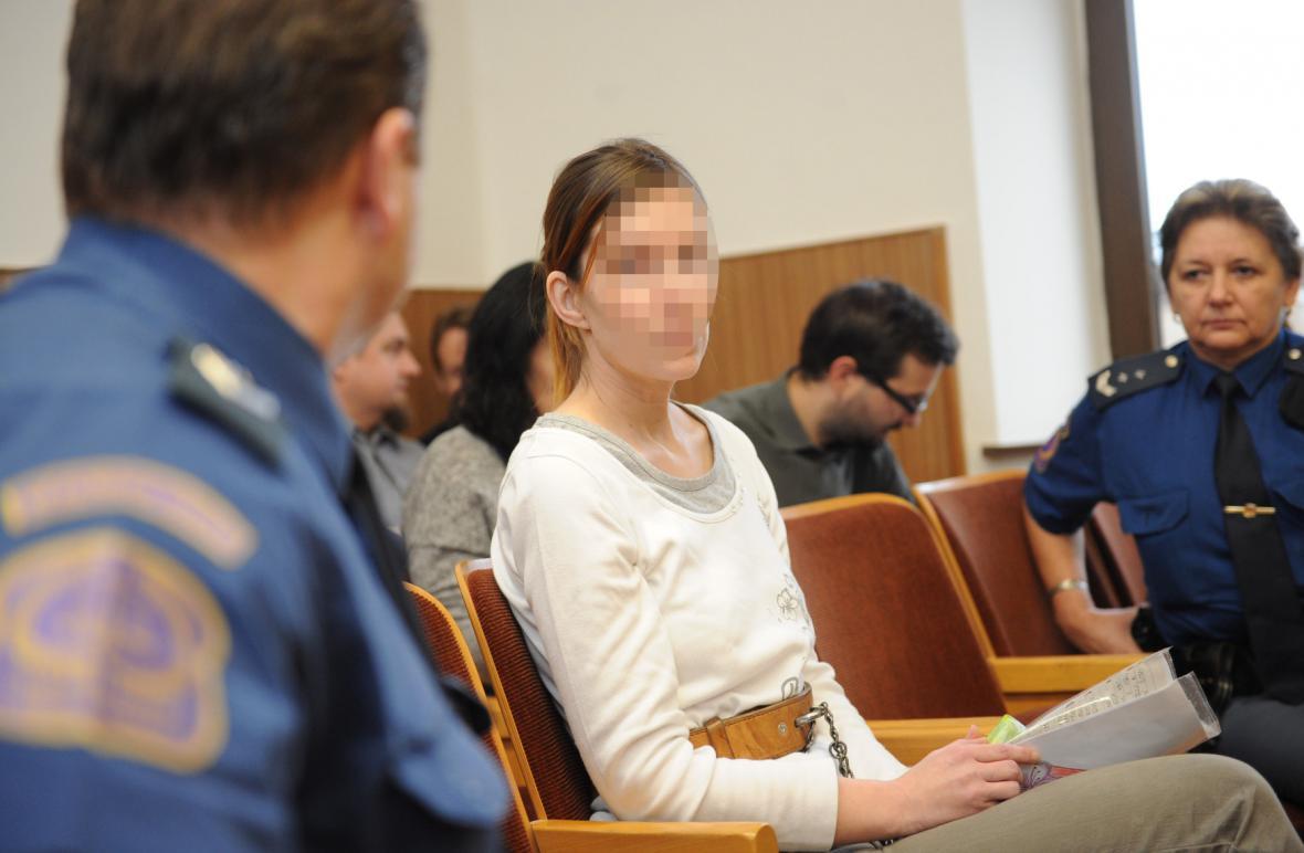 Žena z Blatné odsouzená za vraždu svého dítěte