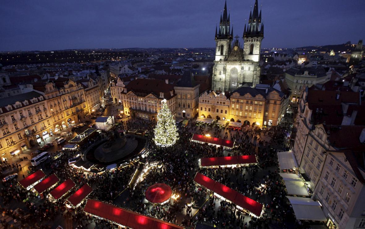 Adventní trhy v Praze