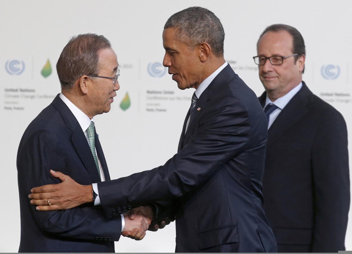 Na klimatický summit přijíždějí státníci z celého světa