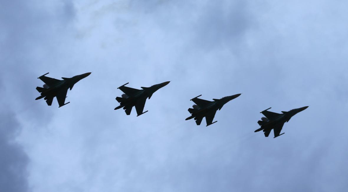 Ruské stíhačky Su-34