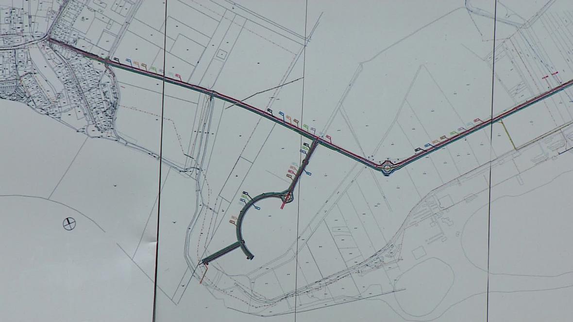 Infrastruktura pro lázeňský komplex je hotová už rok