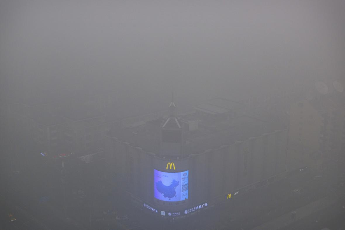 Smogová situace v Pekingu