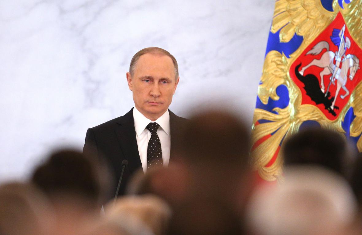 Ruský prezident Putin o stavu země