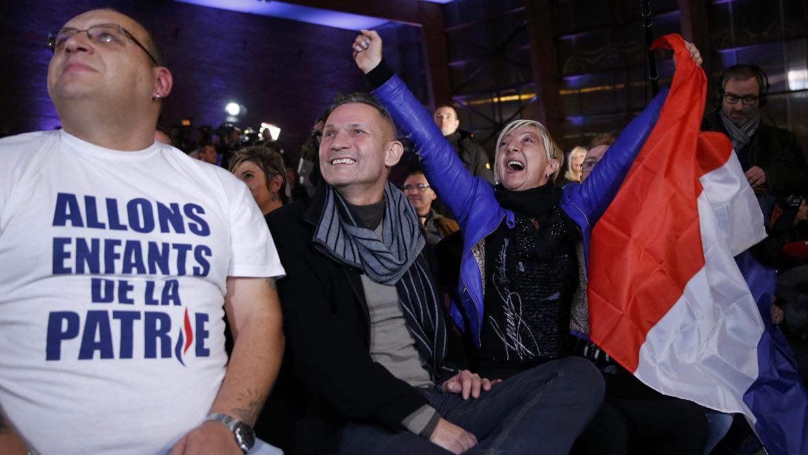 Reakce na výsledky francouzských regionálních voleb