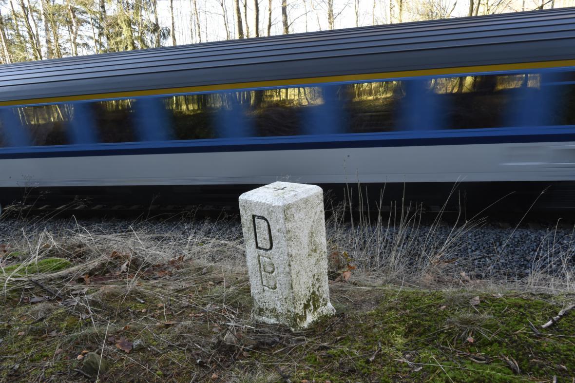 Vlak na trati Aš - Selb