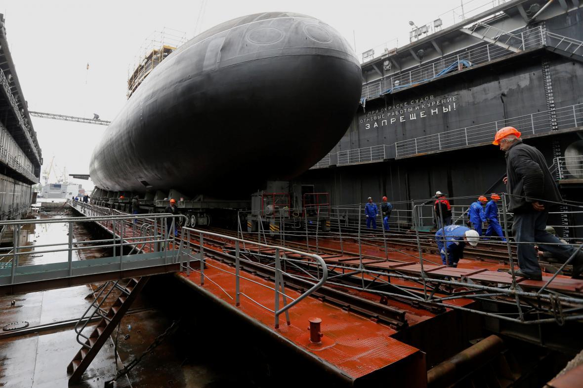 Ponorka Rostov na Donu byla uvedena do provozu v červnu 2014
