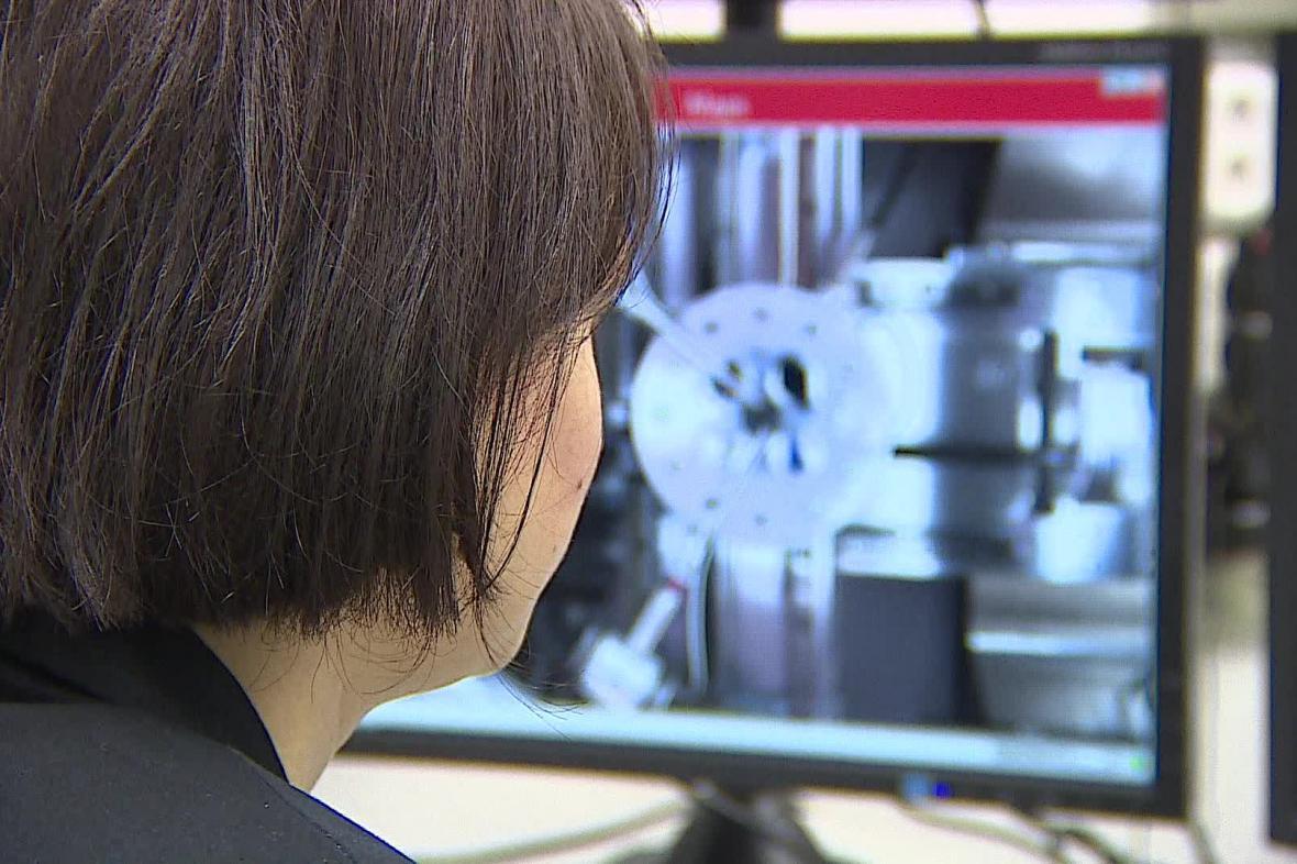 Nový mikroskop Akademie věd