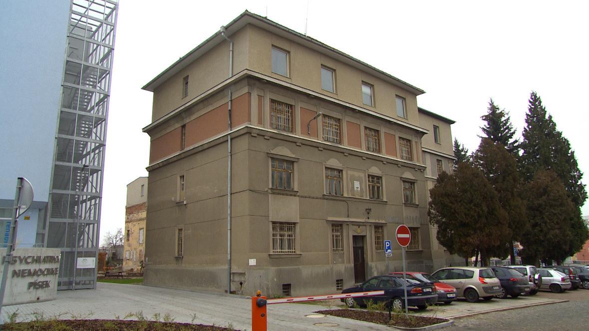 Budova bývalé okresní vojenské správy v Písku