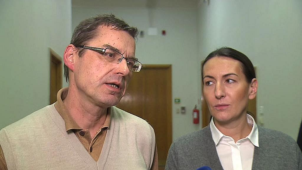 Václav Novotný (TOP 09) a Alexandra Udženija (ODS)