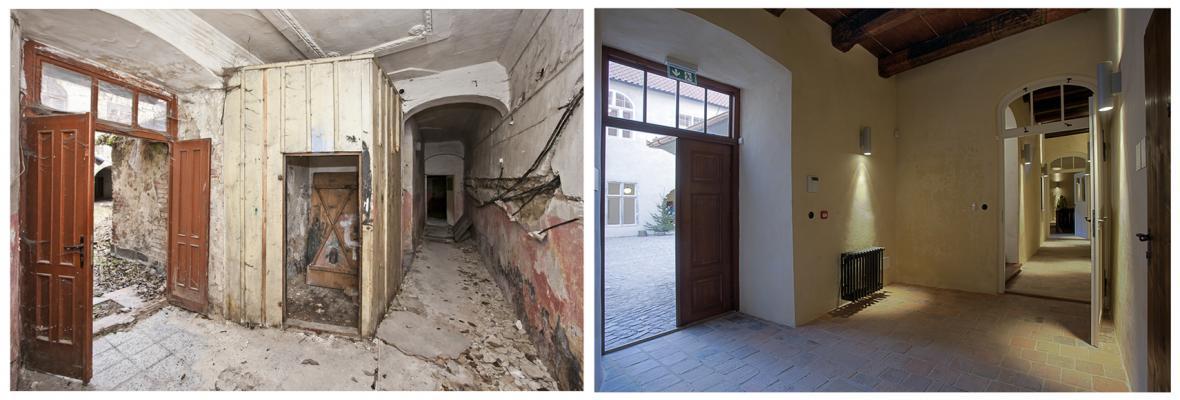 Středověké kláštery v Českém Krumlově po rekonstrukci