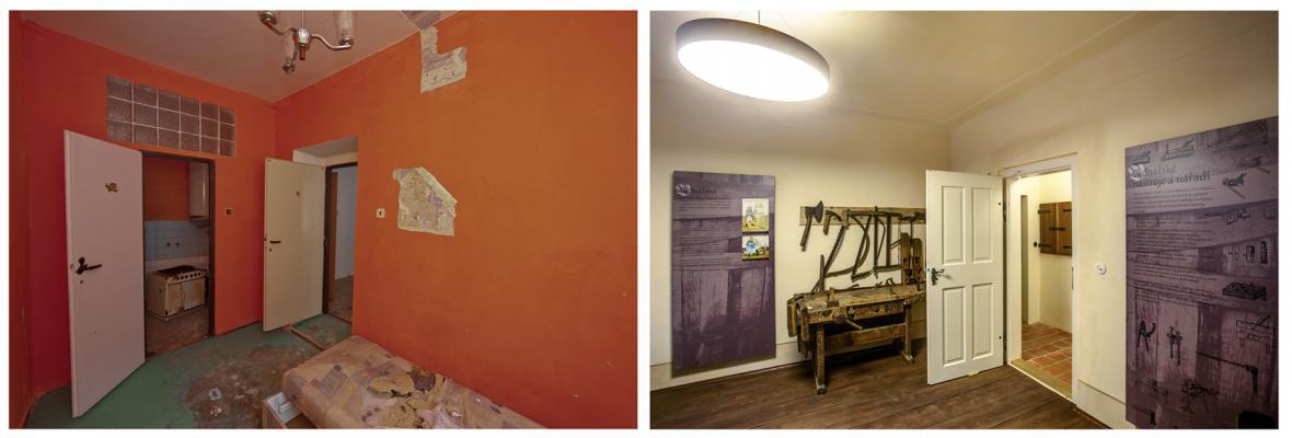 SROVNÁNÍ: Kláštery před a po rekonstrukci