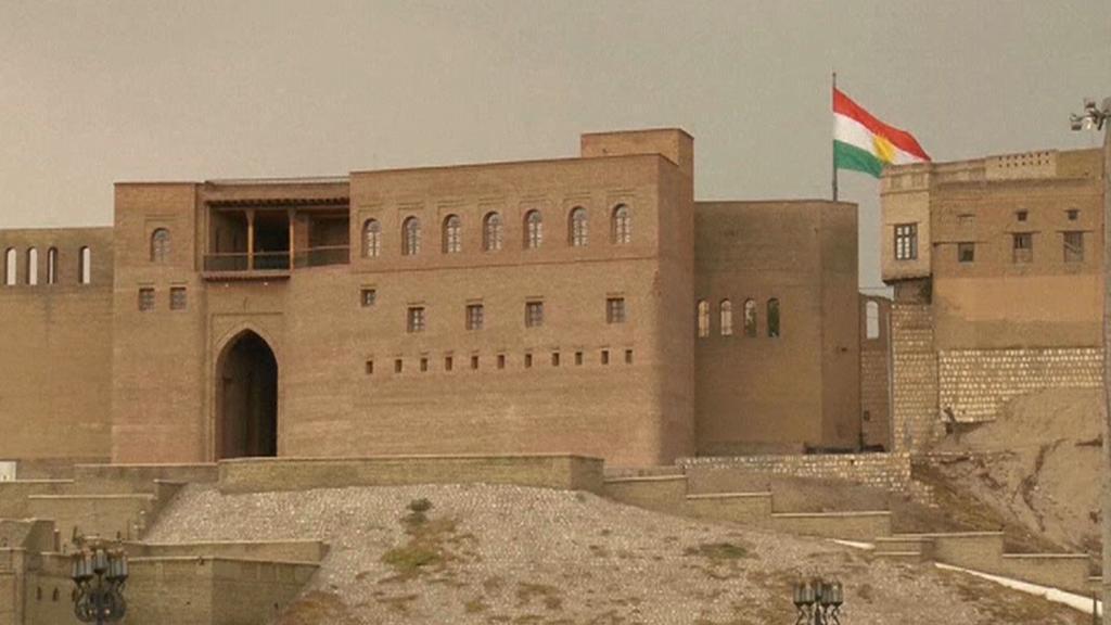 Záchrana irbílské citadely uprostřed bojů