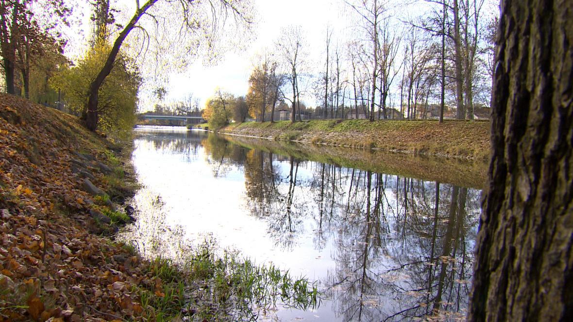 Úsek Malše, kde mají vzniknout protipovodňová opatření
