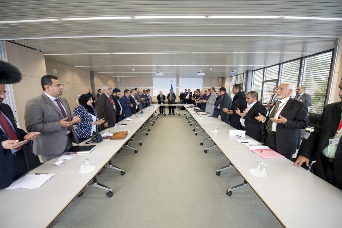 Jemenské mírové rozhovory v Ženevě