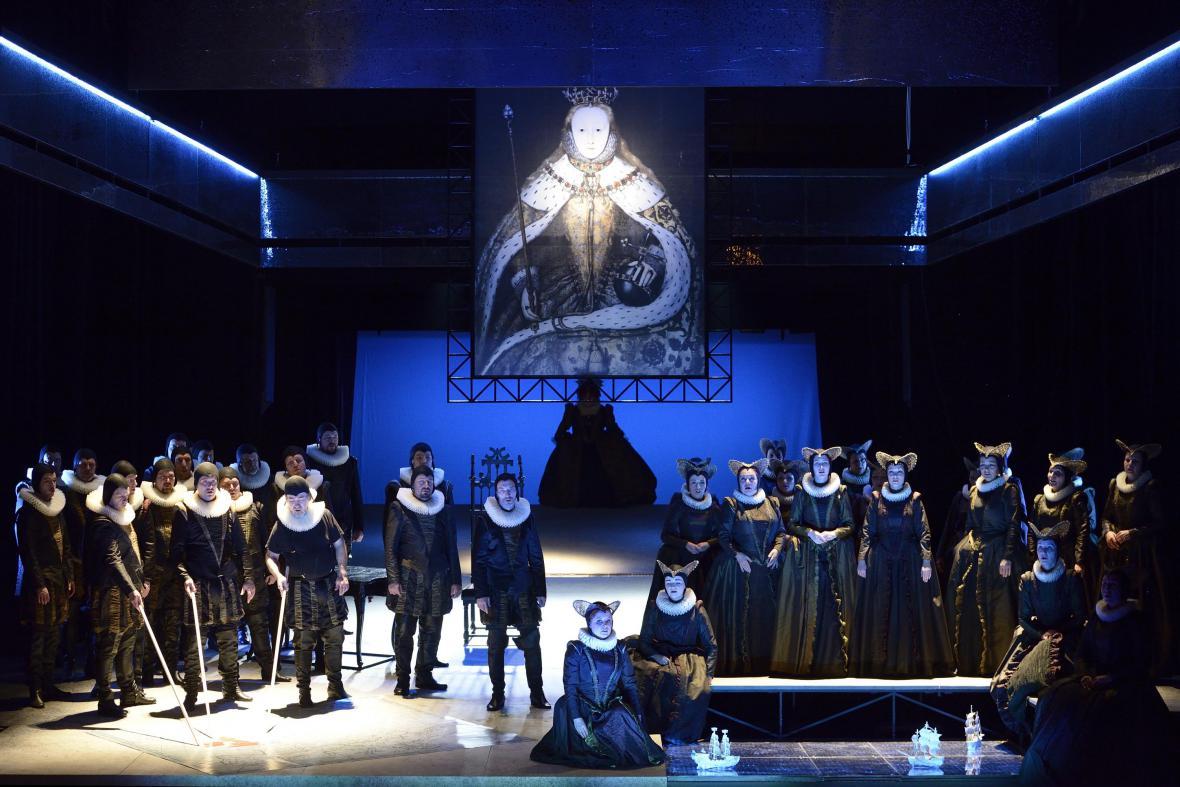 Ostravská inscenace opery Roberto Devereux