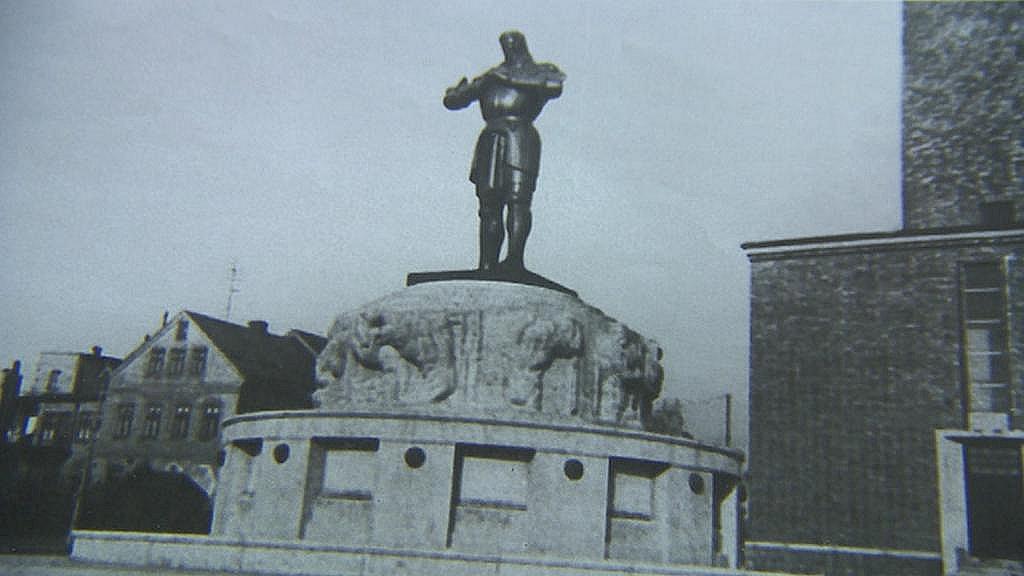 Socha rytíře Rüdigera - Jablonec nad Nisou