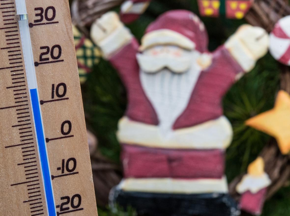 Netradičně vysoké teploty