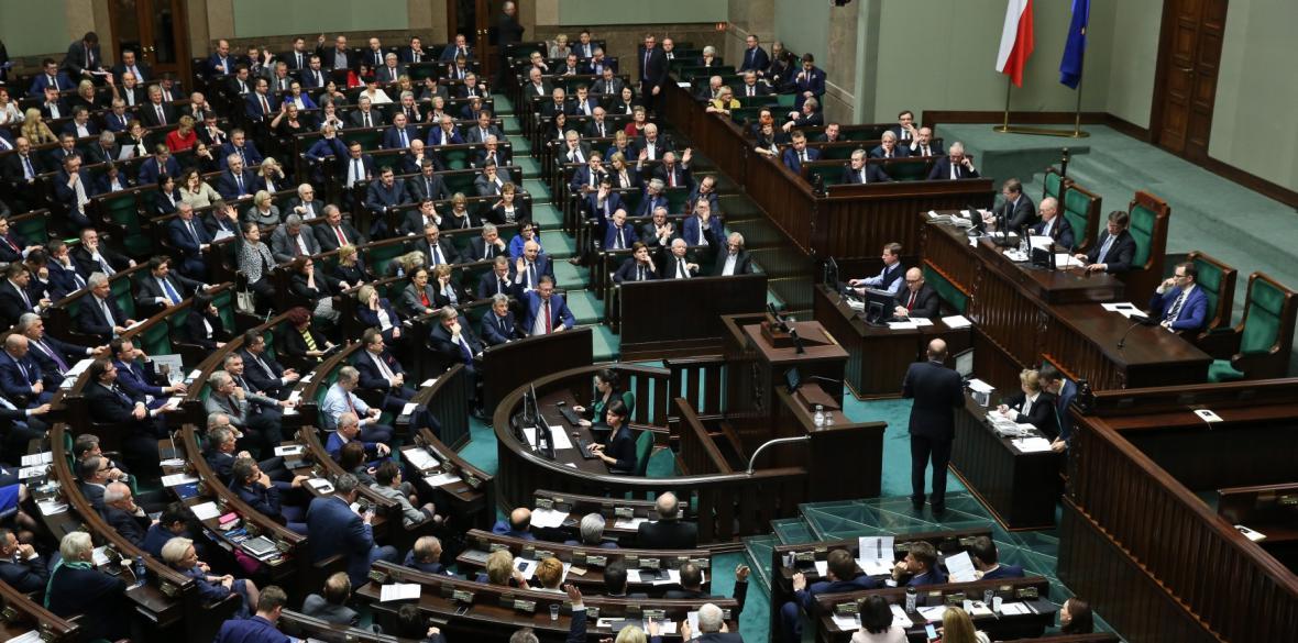 Dolní komora polského parlamentu