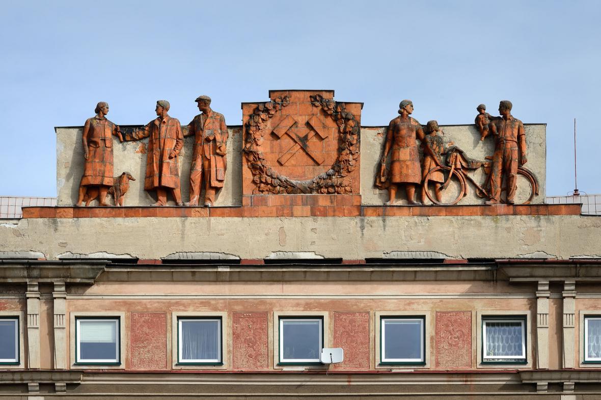 Ostravské sochy