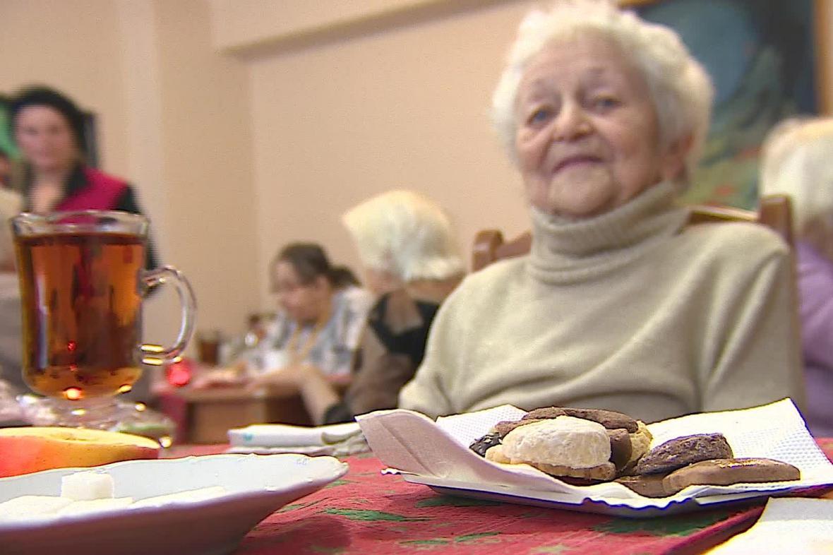 Vánoce v domově pro seniory